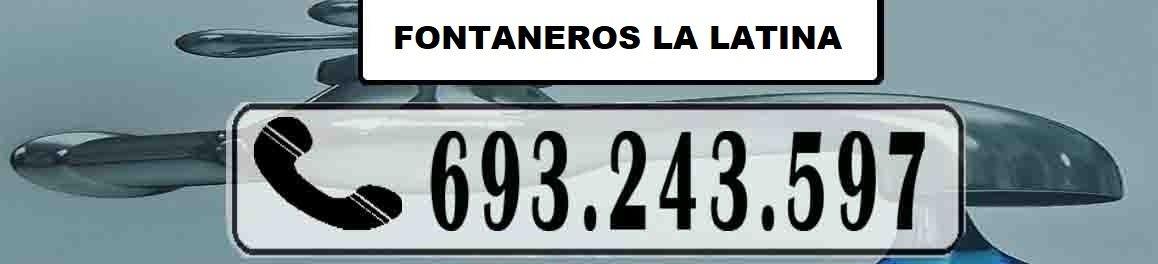 Fontaneros La Latina Madrid Urgentes